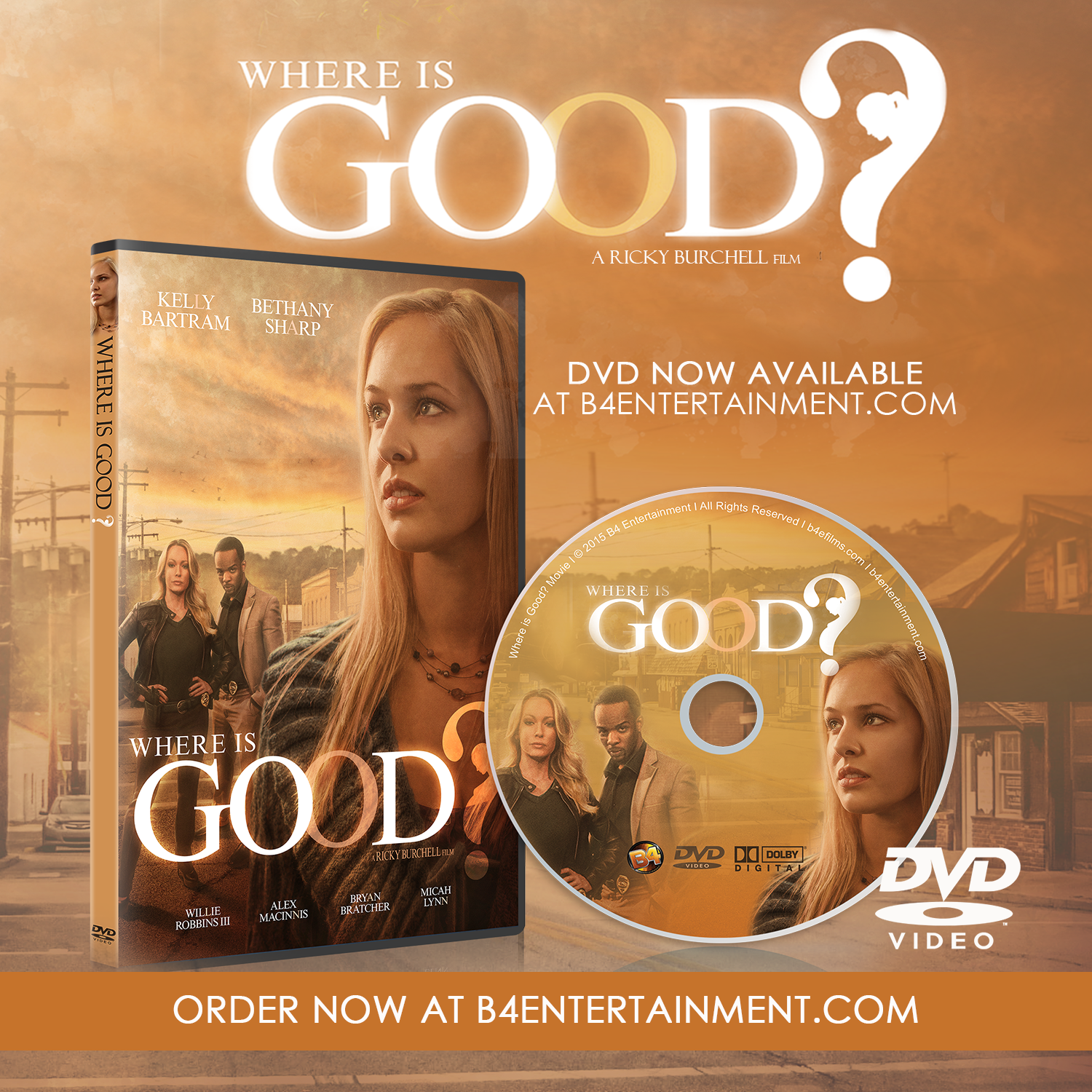 Where Is Good DVD Now Available!